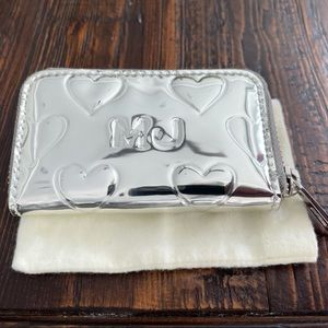 Marc By Marc Jacobs Mirror Heat Silver Coin Purse